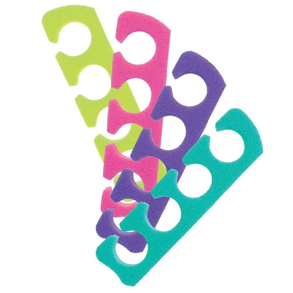Asien Finger oder Toe Séparateurs sortierte Farben 12pcs