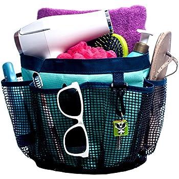 This Item Fancii Portable Mesh Shower Caddy Tote, Quick Dry, 7 Large  Storage Pockets U0026 Key Hook   Hanging Bath U0026 Toiletry Organizer Bag For  College Dorm, ...