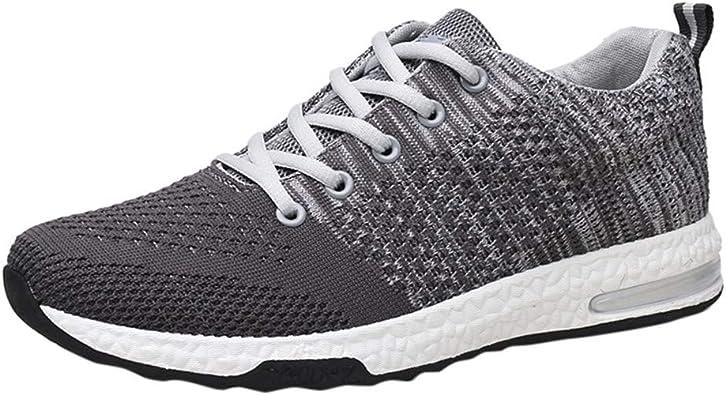 Zapatillas Deporte Hombre,DUJIE Zapatos Zapatos para Correr Gimnasio Sneakers amortiguación de la luz Antideslizante Transpirable Deportes al Aire Libre Zapatos de Hombre Zapatillas: Amazon.es: Zapatos y complementos