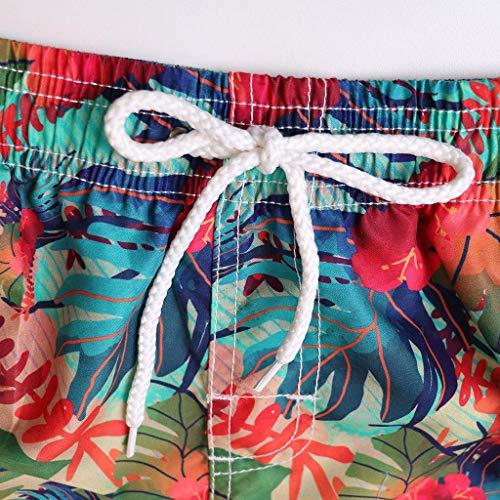 Coppia Witsaye Su Casual Personalità Dipinta Blu E Da Moda Di Uomo Pantaloncini Con Stampa Donna Surf Spiaggia rPwCpxPt