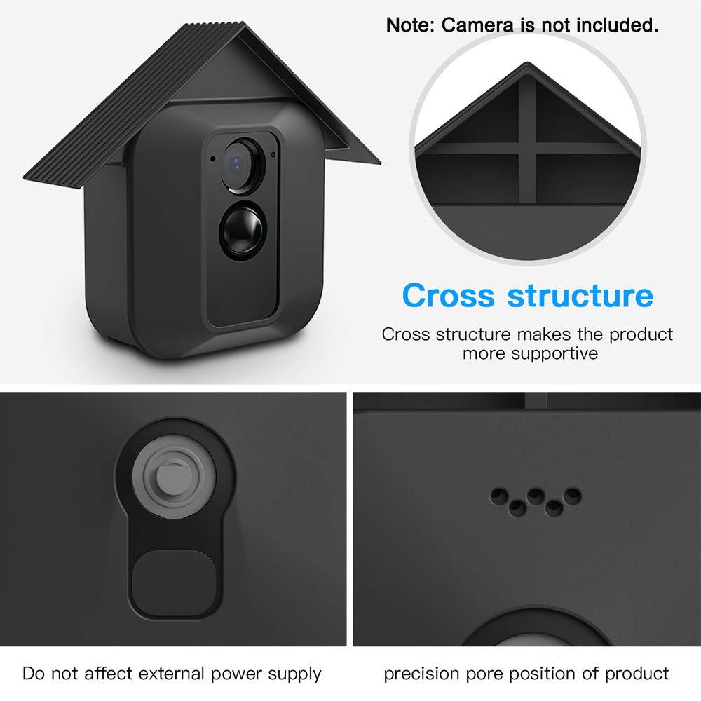 3er Pack Silikon Skin f/ür Blink XT Kameras Security Mrount f/ür Blink XT Cover Outdoor Wetterfest UV-best/ändig Schutzh/ülle Wei/ß