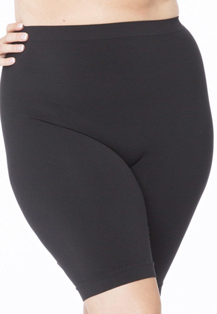 All Woman Plus Size Anti Chafing Long Leg Knickers Guaranteed No Riding Up SINGLE PAIR
