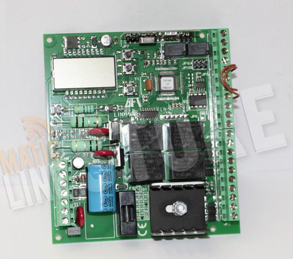 BFT Linx Ma Repuesto Central de control tarjeta para motores Mod. BFT signo Virgo: Amazon.es: Bricolaje y herramientas