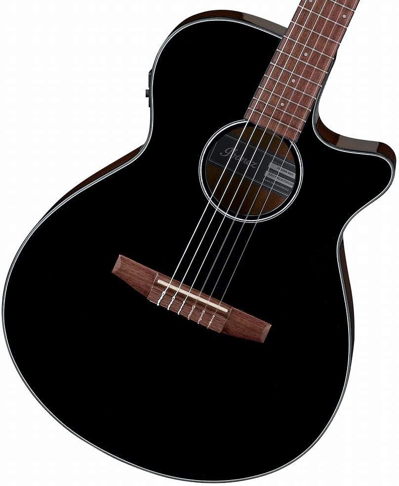 Ibanez AEG50N Black High Gloss - Guitarra acústica