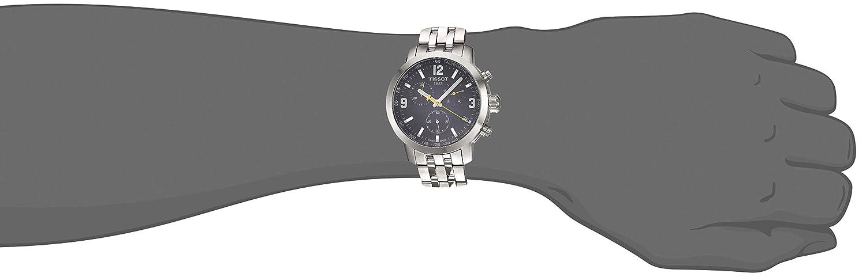 Tissot Men s T0554171105700 PRC200 Analog Display Quartz Silver Watch