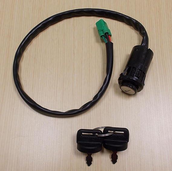 NUEVO 2005 – 2013 Honda TRX 400 TRX400 X TRX400EX ATV Oe Interruptor de encendido con teclas