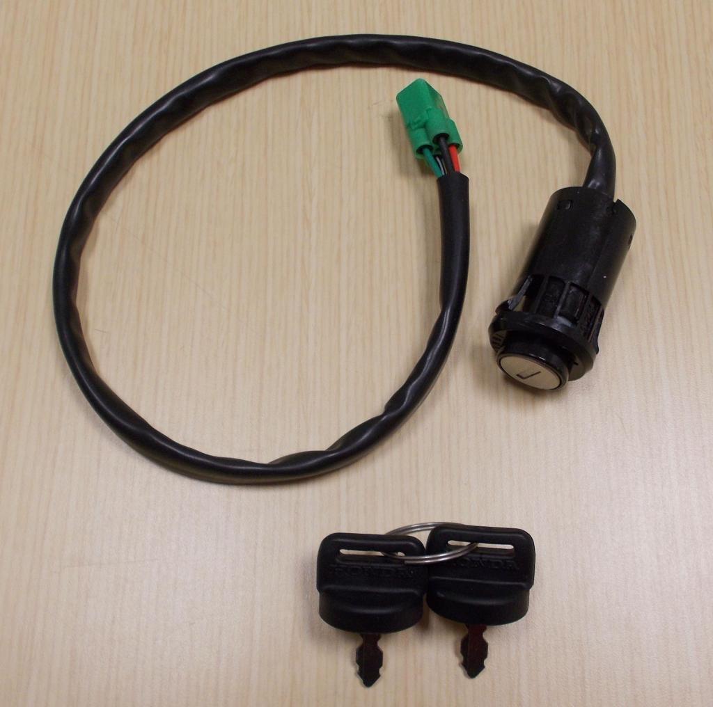 New 2005-2013 Honda TRX 400 TRX400 X TRX400EX ATV OE Ignition Switch With Keys by Honda (Image #1)