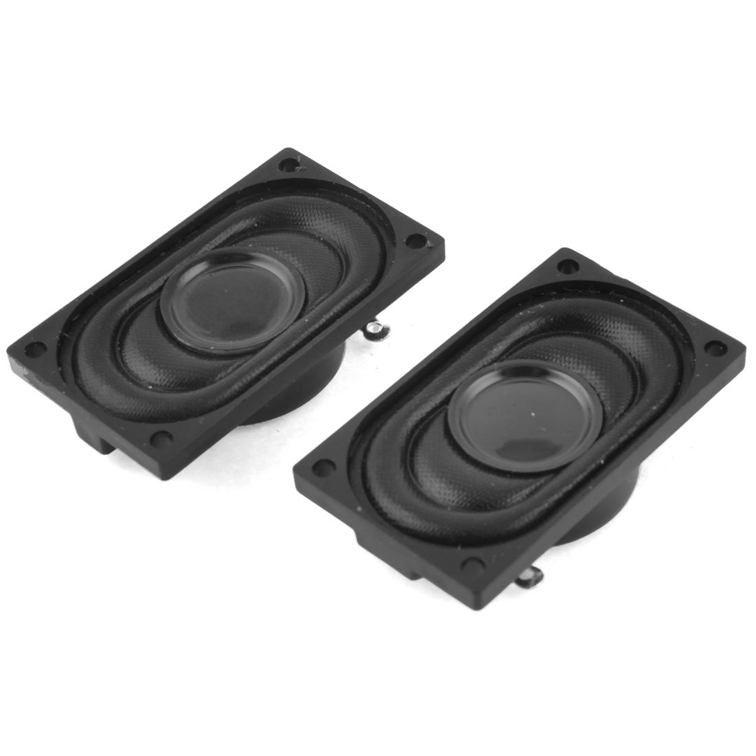 Aexit 2 PCS 2W 8 Ohm Computer Rectangle Internal Magnet Speaker 1.4'' x 0.8''