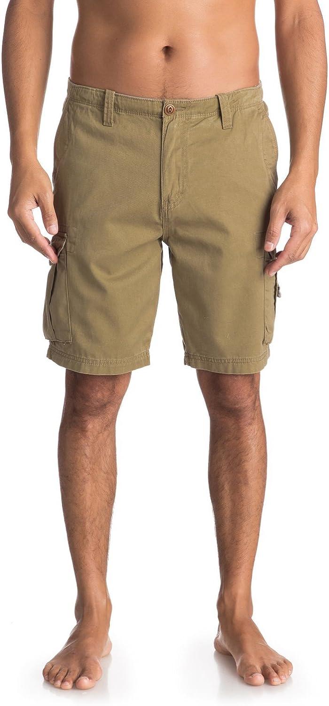 Quiksilver Crucialbattlesh M Tmp0 - Pantalones Cortos Hombre