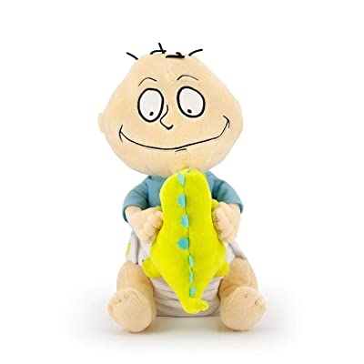 "ThinkGeek Nickelodeon Rugrats Tommy Pickles with Reptar 12"" Plush Exclusive: Toys & Games"