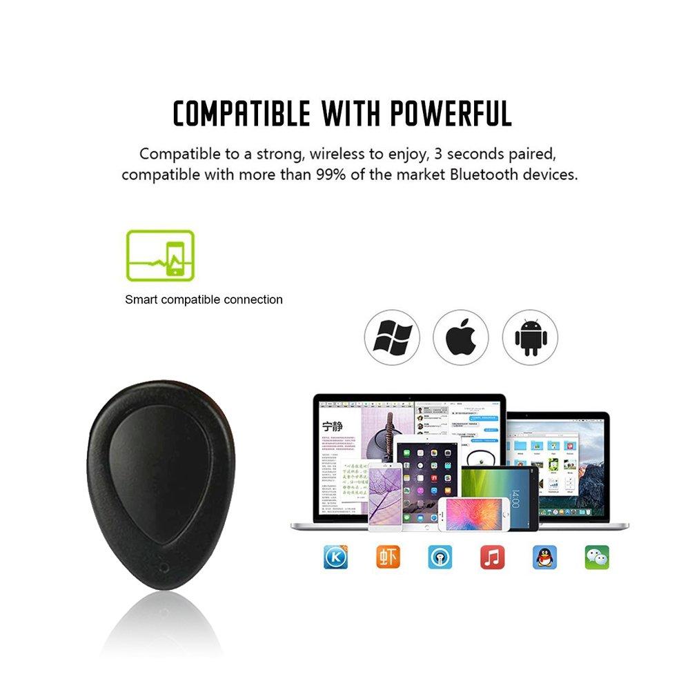 feister inalámbrico Bluetooth 4.1 auriculares Gemelos sonido estéreo auricular auriculares manos libres auriculares in-Ear con caja de carga para teléfonos ...