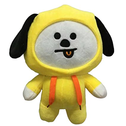 KPOP Cute Cartoon BTS BT21 Plush Doll Toy Bangtan Boys Throw Pillow Cushion 11.8