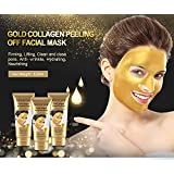 Mond'sub Gold Collagen Peel Off Facial Mask for Nourishing and Removing Blackheads - 120 ml