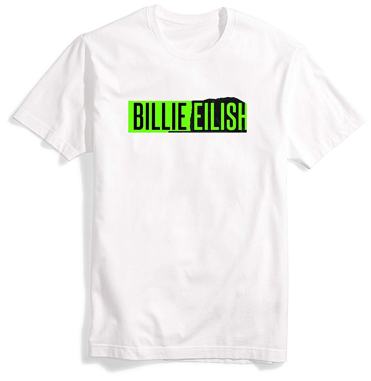083335a3 Amazon.com: momoobaby T-Shirt Billie Eilish Shirt Short Sleeve Crew-Neck