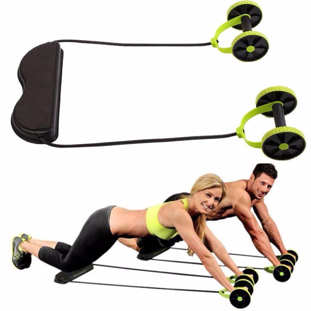 Blaulover Multifunktioneller Abdominal-Widerstands Widerstand Pull Seil Intensität Verstellbare Muskel Fitness Geräte
