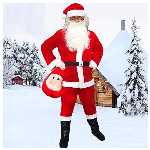 GSDZN - Disfraz De Papa Noel Santa Claus, Traje De Papá Noel ...