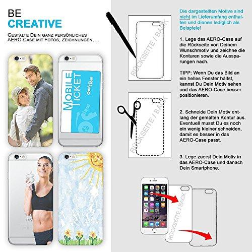 ARTLU® PREMIUM - AERO-CASE en silicone transparente (ultra fine) - pour Apple iPhone 6 / 6S - CRYSTAL-CLEAR
