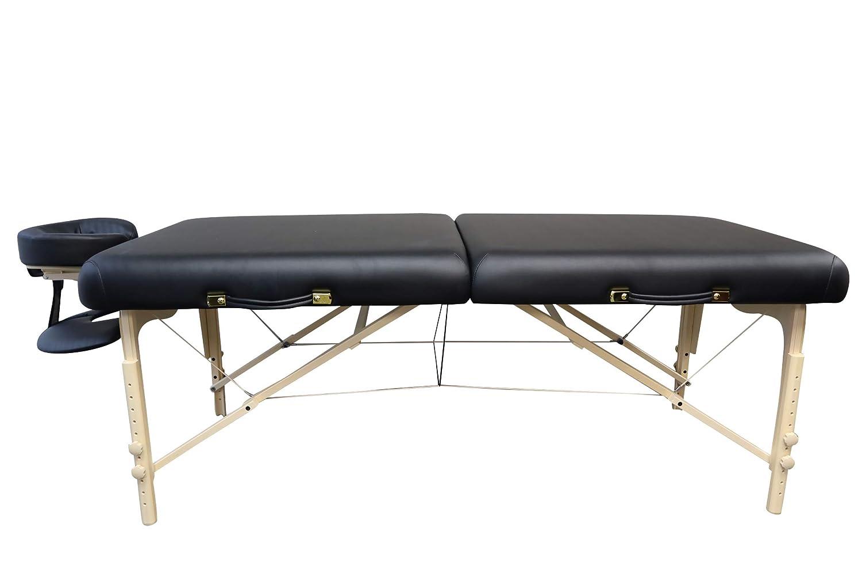 DevLon NorthWest Portable Massage Table Black Aryah Model Reiki Shiatsu