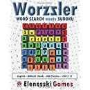 Worzzler (English, Difficult, 400 Puzzles) 2017.11: Word Search meets Sudoku