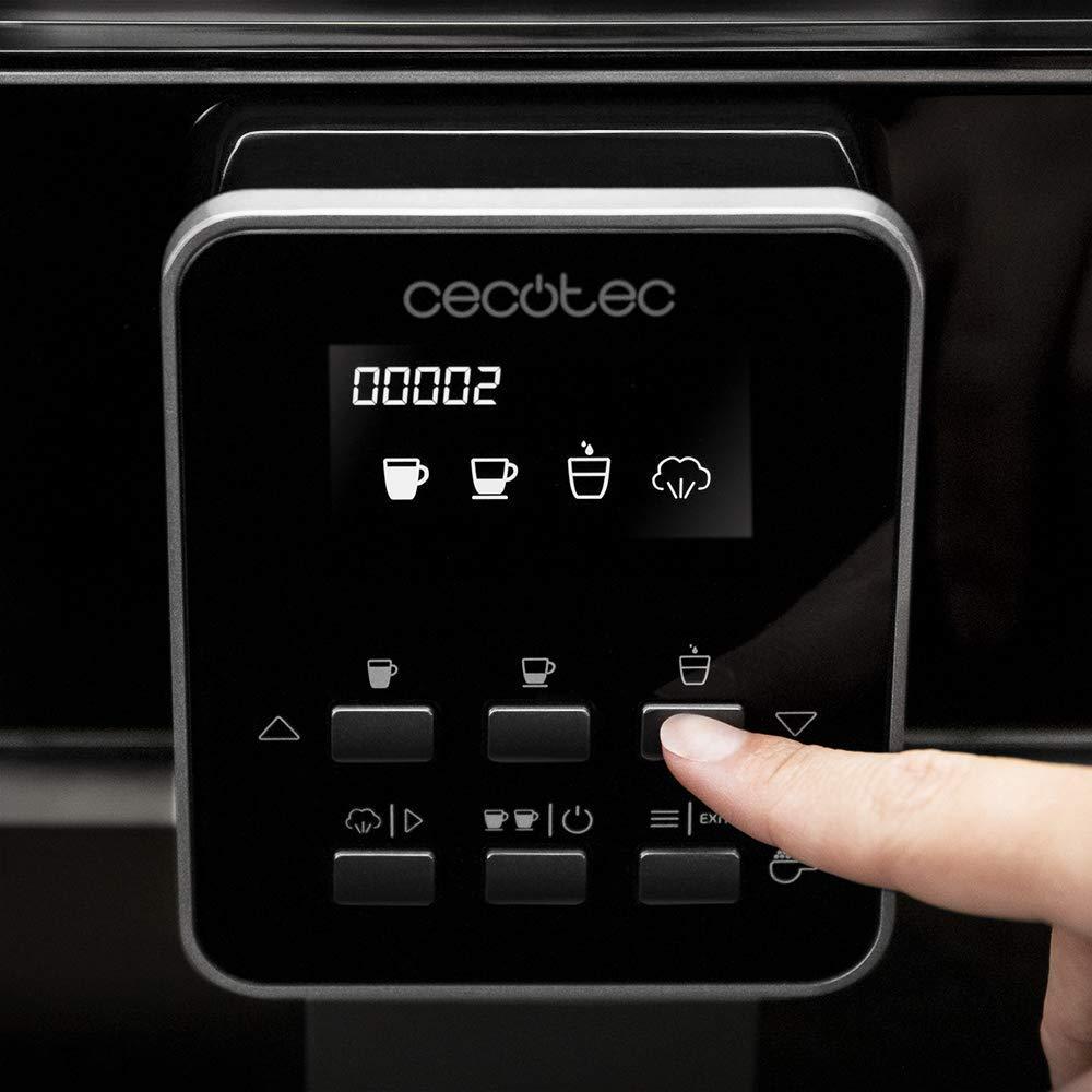 Cecotec cafetera megautomática Power Matic-ccino 6000 Serie Bianca para los Amantes del café recién molido. Disfruta de espressos y cappuccinos. 19 ...