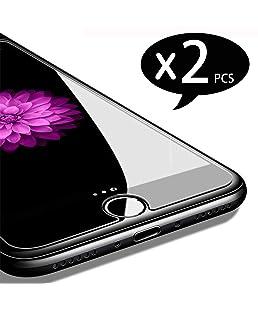 NEW'C Pacco da 2 Pezzi, Pellicola Protettiva in Vetro Temperato per iPhone 7, iPhone 8