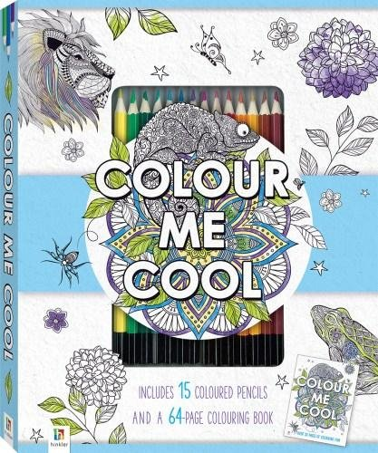Amazon.com: Color Me Cool Coloring Set- Coloring Book and ...