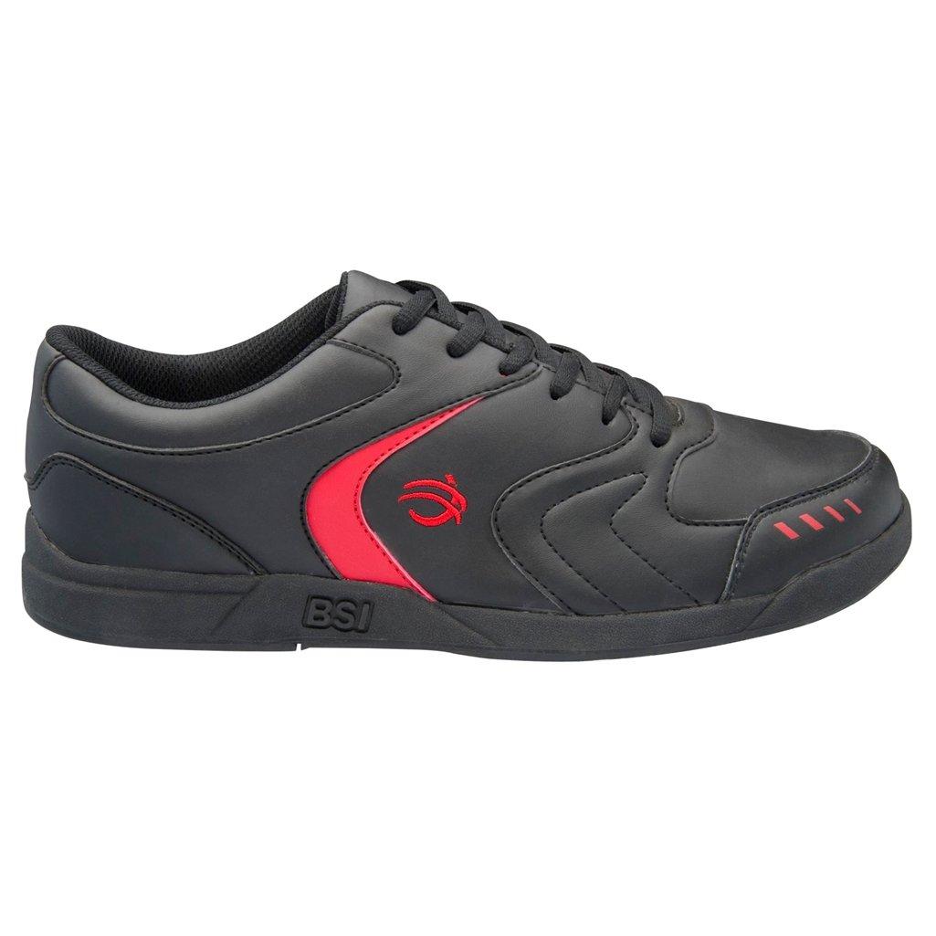 Bowlers Superior Inventory BSI Mens 550 Bowling Shoes B00MMOV6KU 14 M US|Black/Red