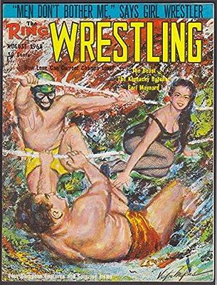The RING WRESTLING Beast Kentucky Butcher Earl Maynard Bruno Sammartino 8 1968