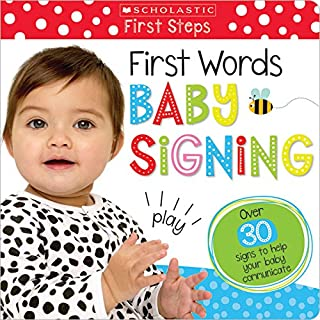 Book Cover: First Words Baby Signs