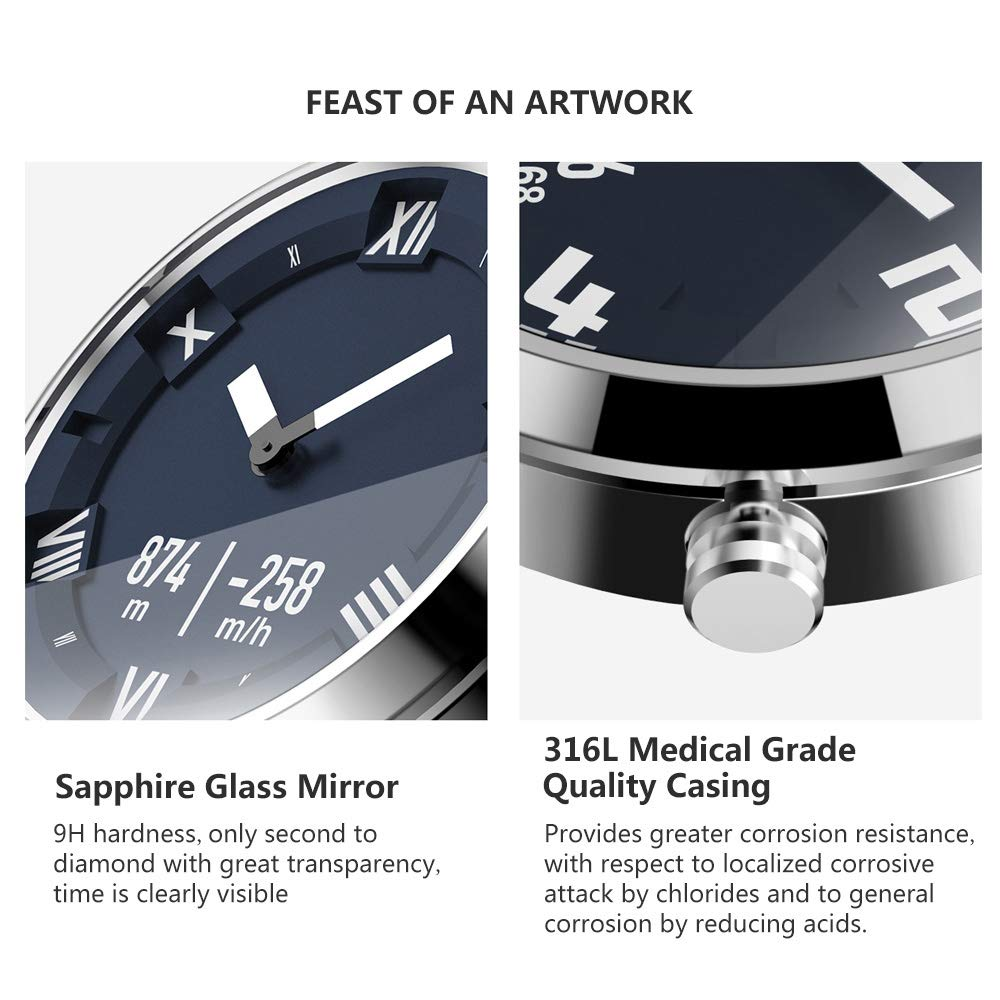 Lenovo Watch X Reloj Inteligente 80ATM Luminoso Puntero a ...