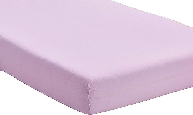 Tiendadeleggings (Lila 150) Sabana Bajera Ajustable, Elastica 100% algodón de Verano. Cama 150 x 190-200 cm + 25cm. Fácil Lavado, Planchado y Duradera REGALITOSTV (Malva): Amazon.es: Hogar