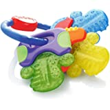 Nuby Icy Bite Keys Teether, Multi