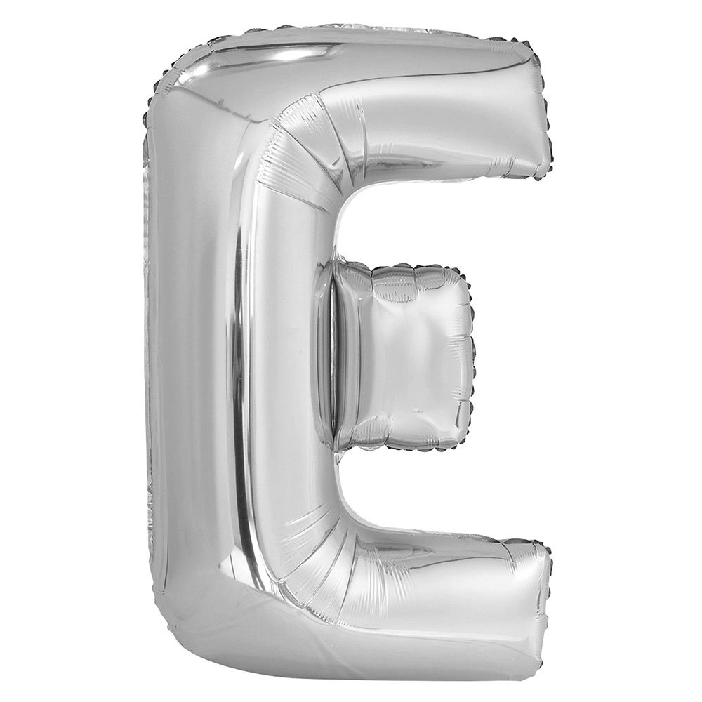 Unique 57512 34 Big Foil E Letter Balloon, Silver Unique Industries Inc.