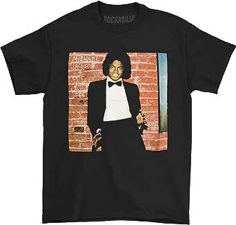 Michael Jackson Men's Off The Wall Closeup Slim-Fit T-Shirt