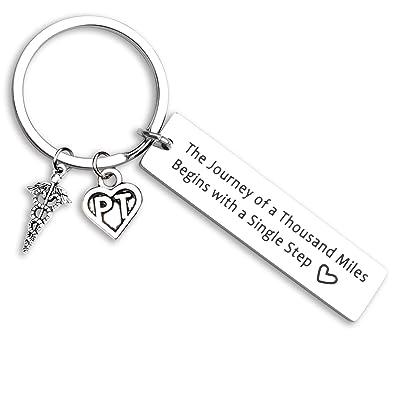 Amazon.com: ecobuty - Llavero de terapeuta física, regalo de ...