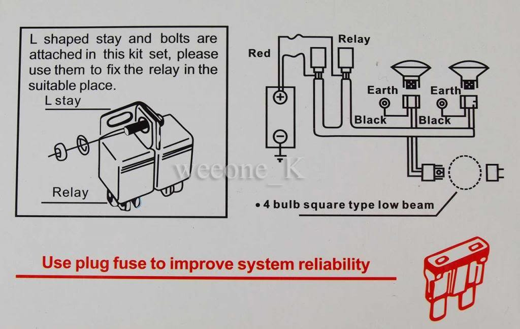 Fantastic H4 9003 Headlight Wiring Diagram Component - Everything ...