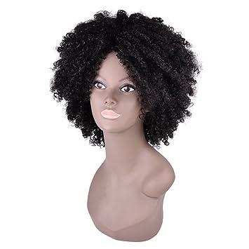 Amazoncom Miss Rola Sintético Afro Rizado Peluca Suave