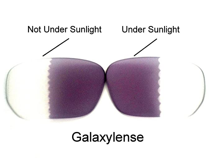 184a45600cd Image Unavailable. Image not available for. Color  Galaxy Replacement Lenses  For Oakley Style Switch Photochromic Transition