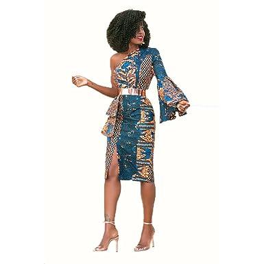 b553871684e0 YAN Mesdames Robes Oblique Épaule Femmes Robes De Soirée De Soirée De  Mariage De Mariage Robe