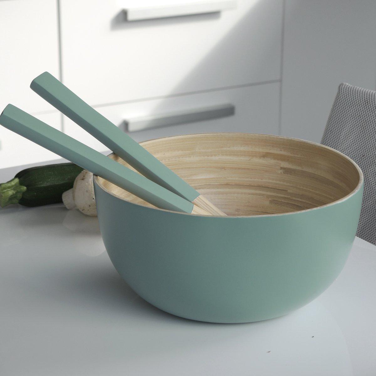 Bruno Evrard Couverts /à Salade en Bambou Vert 30cm Baya