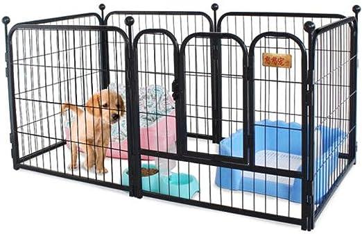Artículos para mascotas, jaula para cercas para perros, perro mediano para perros grandes, cachorros para perros pequeños, jaula para perros Golden Retriever, cercas para mascotas, longitud y ancho de: Amazon.es: Productos para