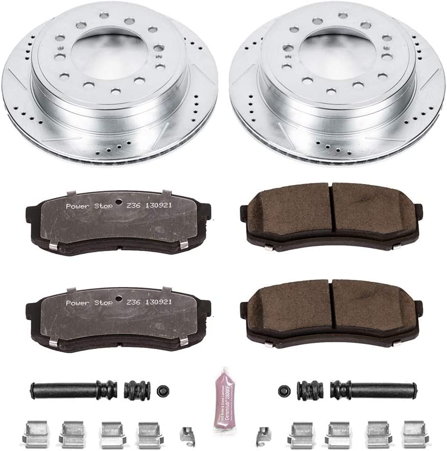 Power Stop K5875-36 Rear Z36 Truck and Tow Brake Kit