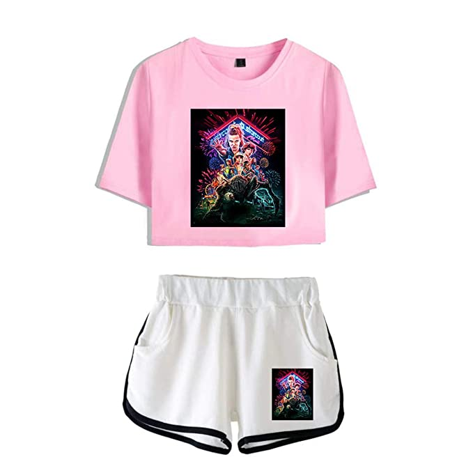 Stranger Things Suit Chaquetas y Tops Shorts Trajes Casual ...