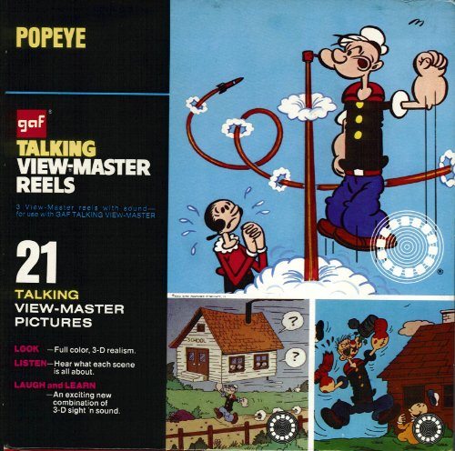 Used, Popeye GAF Talking View-Master Reels for sale  Delivered anywhere in USA