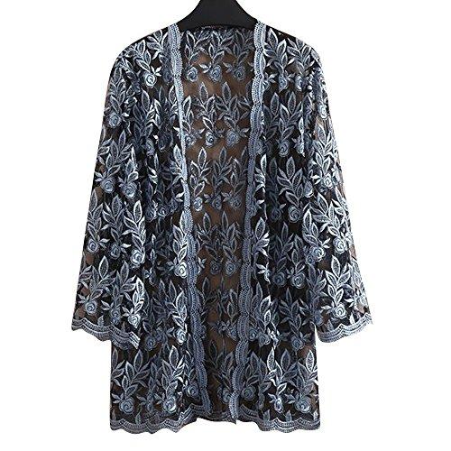 Embellished Silk Jacket - 3
