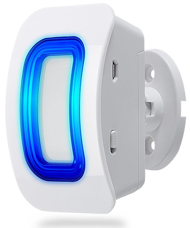 Fosmon WaveLink 51054HOM Add-On Door Motion Sensor Unit (No Receiver) - White