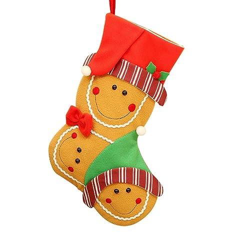 1pcs Calcetines de Navidad de Dibujos Animados Bolsa de Regalo para Fiesta de Niños