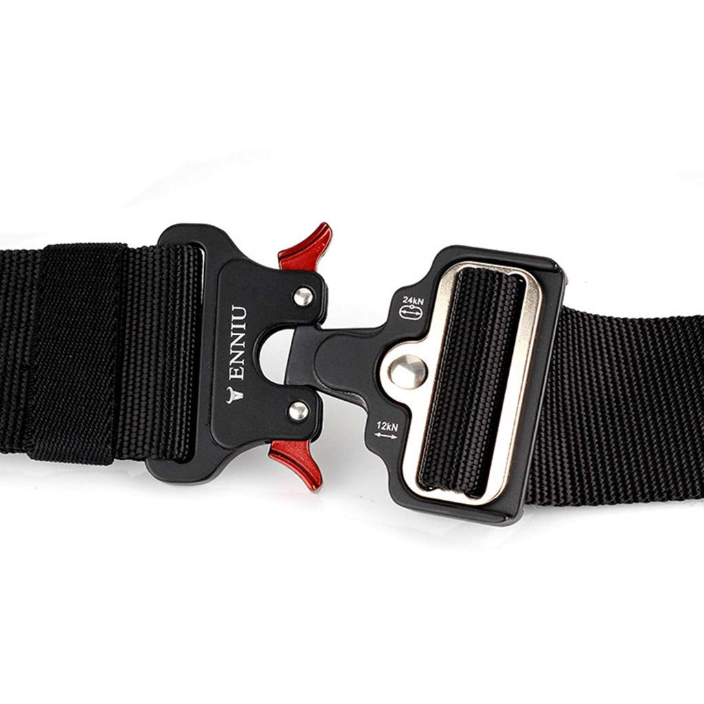 zongrong Quick Release Buckle Safety Outer Belt Quick Dry Pure Nylon Belt Training Belt