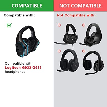 Defean Ersatz Ohrpolster Für Logitech G933 G935 G633 Elektronik