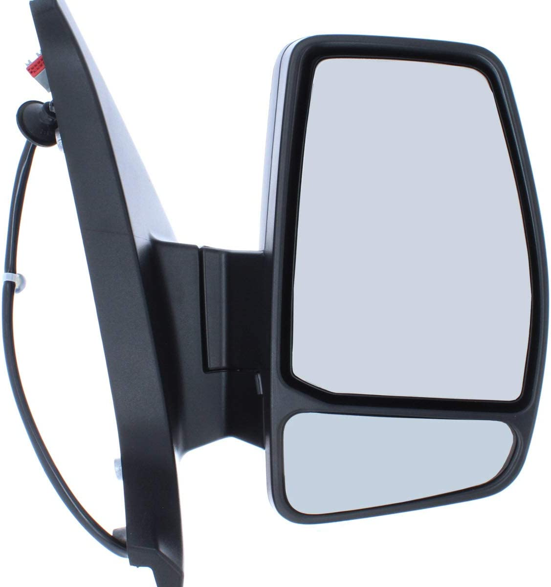 2013 on Van Demon Right Hand Primed Electric Heated Power Folding Door Mirror with Indicator for Ford Transit Custom MM4530